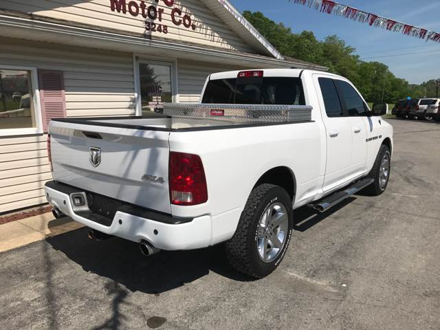 2011 RAM Ram Pickup 1500 4x4 Outdoorsman 4dr Quad Cab 6.3 ft. SB Pickup - Jackson MO