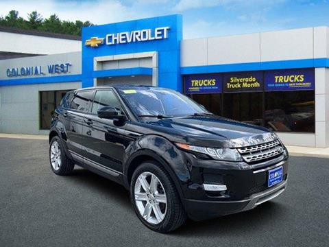 2015 Land Rover Range Rover Evoque for sale in Fitchburg, MA