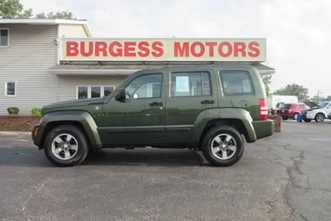 2008 Jeep Liberty for sale in Michigan City, IN