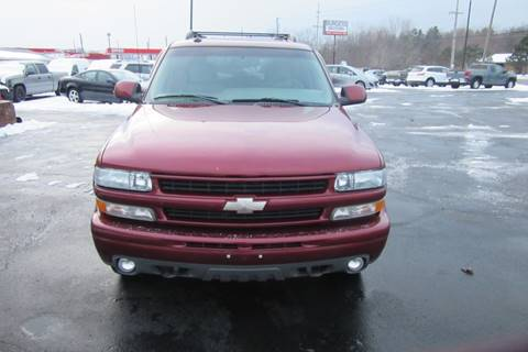 2003 Chevrolet Tahoe for sale at Burgess Motors Inc in Michigan City IN