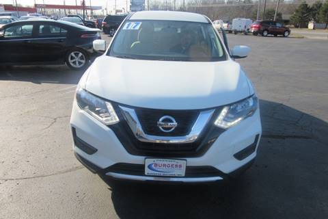 2017 Nissan Rogue S for sale at Burgess Motors Inc in Michigan City IN