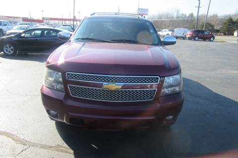 2008 Chevrolet Avalanche LTZ for sale at Burgess Motors Inc in Michigan City IN