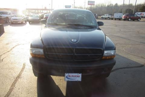 2003 Dodge Dakota SXT for sale at Burgess Motors Inc in Michigan City IN