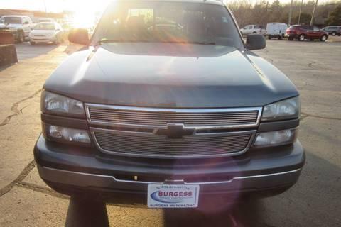 2006 Chevrolet Silverado 1500 LT2 for sale at Burgess Motors Inc in Michigan City IN