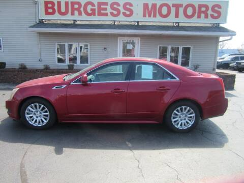 2013 Cadillac CTS for sale at Burgess Motors Inc in Michigan City IN
