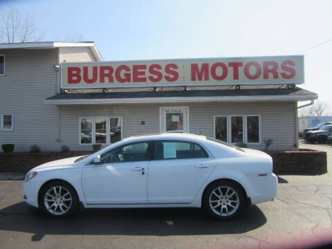2011 Chevrolet Malibu for sale at Burgess Motors Inc in Michigan City IN