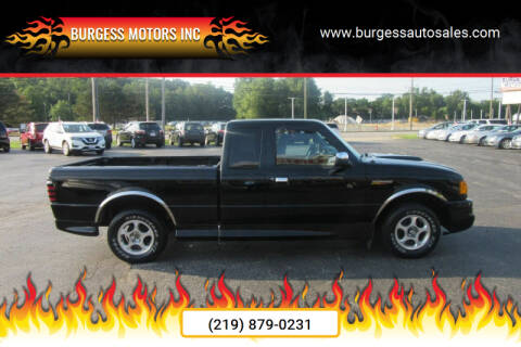 2002 Ford Ranger for sale at Burgess Motors Inc in Michigan City IN