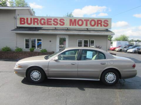 2004 Buick LeSabre for sale at Burgess Motors Inc in Michigan City IN