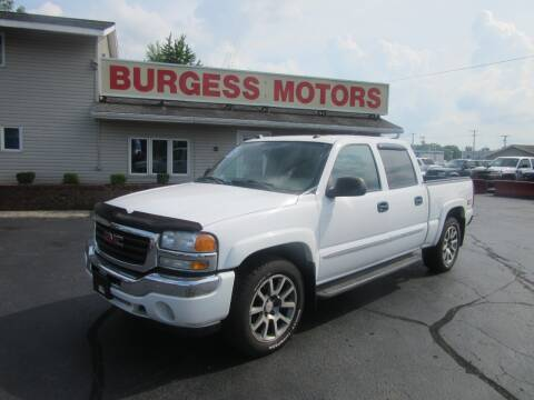 2005 GMC Sierra 1500 for sale at Burgess Motors Inc in Michigan City IN