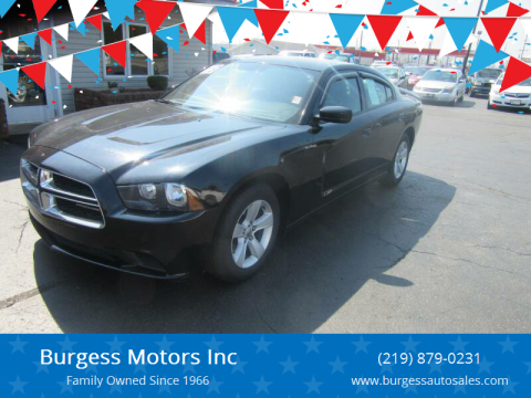 2013 Dodge Charger for sale at Burgess Motors Inc in Michigan City IN