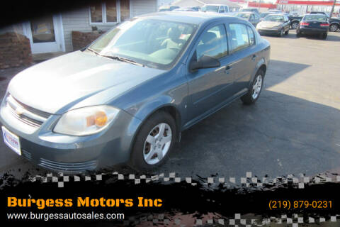 2007 Chevrolet Cobalt for sale at Burgess Motors Inc in Michigan City IN