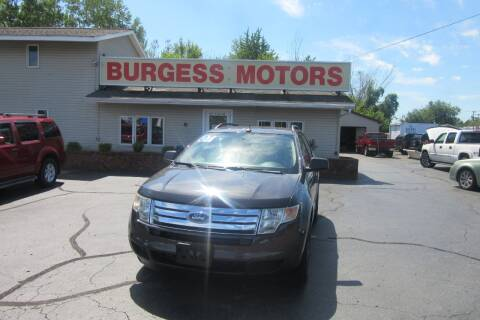 2007 Ford Edge for sale at Burgess Motors Inc in Michigan City IN