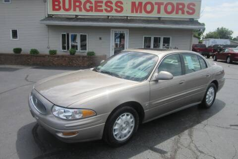 2000 Buick LeSabre for sale at Burgess Motors Inc in Michigan City IN