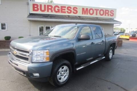 2009 Chevrolet Silverado 1500 for sale at Burgess Motors Inc in Michigan City IN