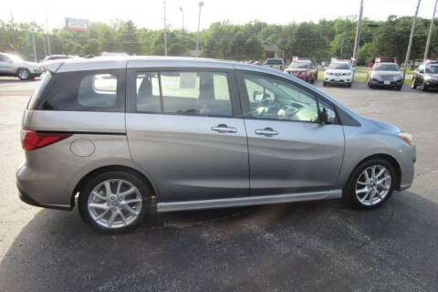 2013 Mazda MAZDA5 for sale at Burgess Motors Inc in Michigan City IN