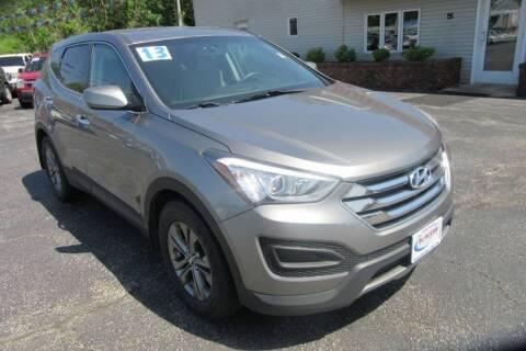 2013 Hyundai Santa Fe Sport for sale at Burgess Motors Inc in Michigan City IN