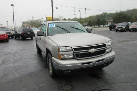 2007 Chevrolet Silverado 1500 Classic for sale at Burgess Motors Inc in Michigan City IN