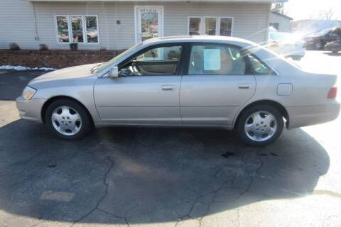 2004 Toyota Avalon for sale at Burgess Motors Inc in Michigan City IN