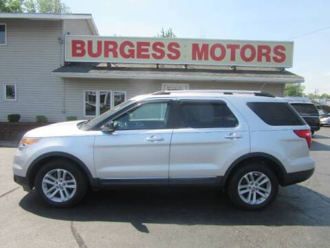 2013 Ford Explorer for sale at Burgess Motors Inc in Michigan City IN