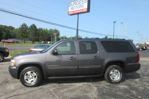 2010 Chevrolet Suburban for sale at Burgess Motors Inc in Michigan City IN