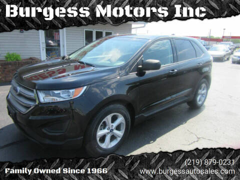 2016 Ford Edge for sale at Burgess Motors Inc in Michigan City IN