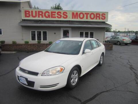 2009 Chevrolet Impala for sale at Burgess Motors Inc in Michigan City IN