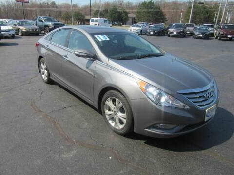 2013 Hyundai Sonata for sale at Burgess Motors Inc in Michigan City IN