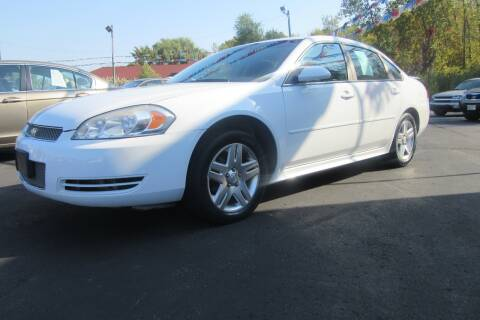 2012 Chevrolet Impala for sale at Burgess Motors Inc in Michigan City IN