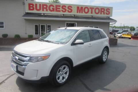 2013 Ford Edge for sale at Burgess Motors Inc in Michigan City IN