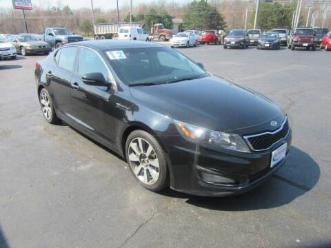 2012 Kia Optima for sale at Burgess Motors Inc in Michigan City IN