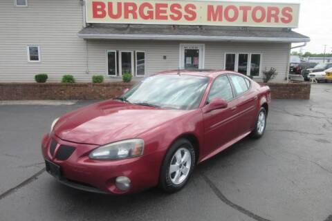 2005 Pontiac Grand Prix for sale at Burgess Motors Inc in Michigan City IN