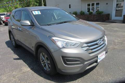 2013 Hyundai Santa Fe Sport for sale at Burgess Motors Inc in Michigan City IN