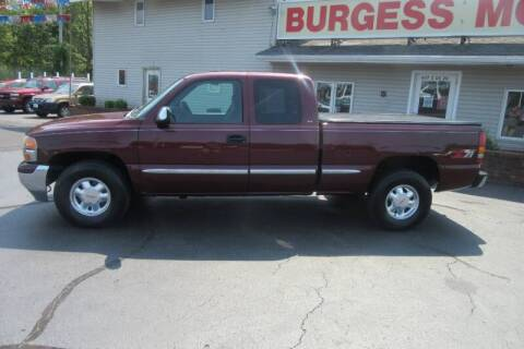 2000 GMC Sierra 1500 for sale at Burgess Motors Inc in Michigan City IN