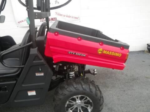 2017 Massimo MSU 850