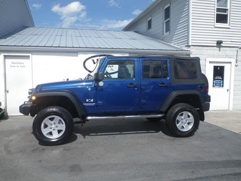 2009 Jeep Wrangler Unlimited for sale in Lewistown, PA