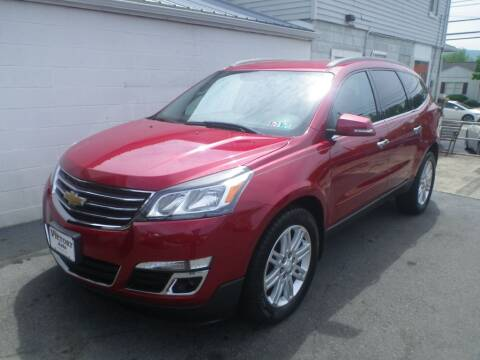 2014 Chevrolet Traverse LT for sale at VICTORY AUTO in Lewistown PA