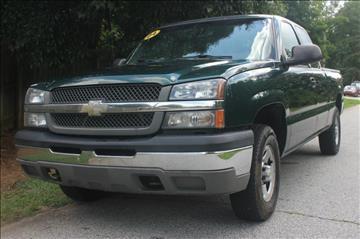 2004 Chevrolet Silverado 1500 for sale at Northside Auto Sales in Greenville SC