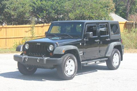 2011 Jeep Wrangler Unlimited for sale at Northside Auto Sales in Greenville SC