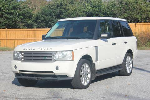 2009 Land Rover Range Rover for sale at Northside Auto Sales in Greenville SC