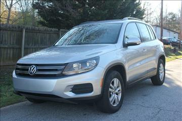 2016 Volkswagen Tiguan for sale at Northside Auto Sales in Greenville SC