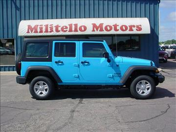 2017 Jeep Wrangler Unlimited for sale in Fairmont, MN