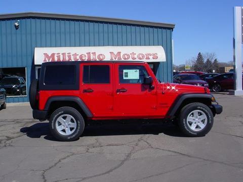 Jeep wrangler for sale in fairmont mn for Militello motors fairmont mn