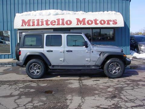 Jeep wrangler for sale in minnesota for Militello motors fairmont mn