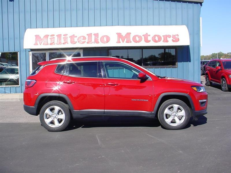 2018 Jeep Compass Latitude 4x4 4dr SUV