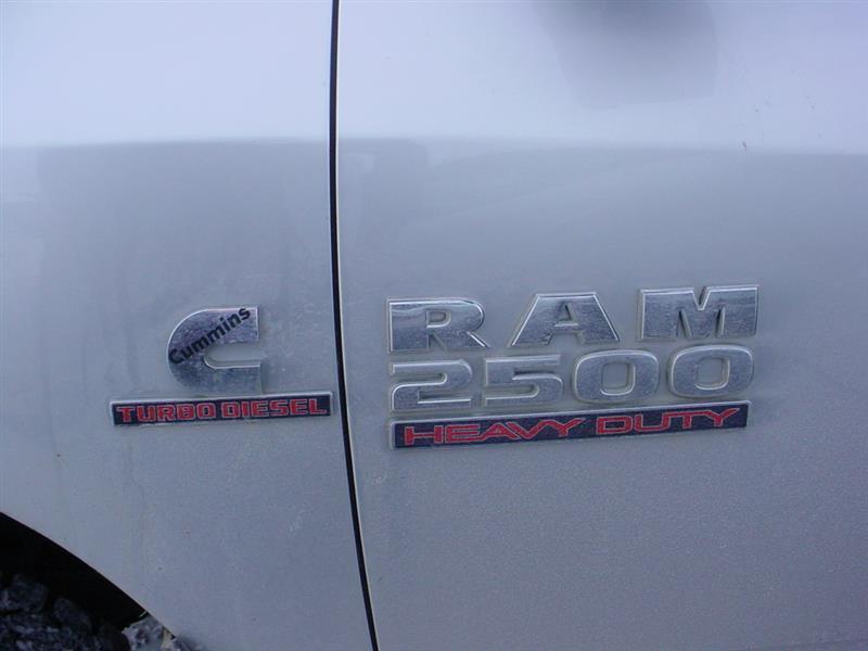 2013 Ram Pickup 2500 Tradesman 4x4 4dr Crew Cab 8 ft. LB Pickup