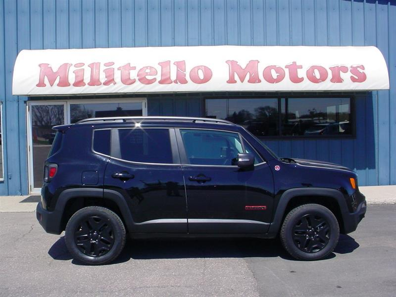 2018 Jeep Renegade Trailhawk 4x4 4dr SUV