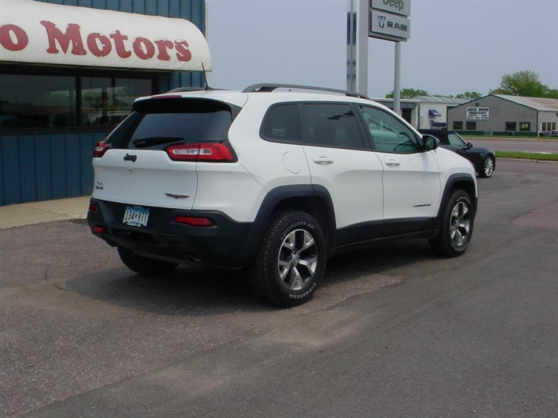 2016 Jeep Cherokee Trailhawk 4x4 4dr SUV