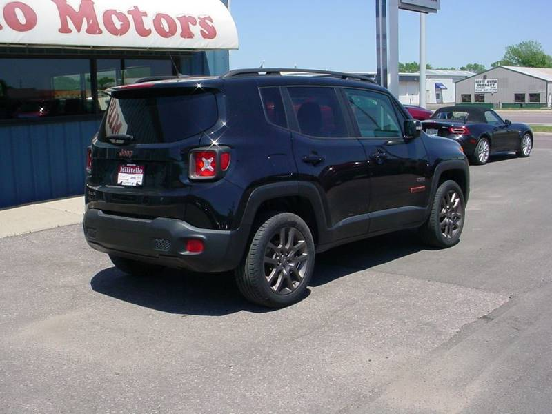 2016 Jeep Renegade Latitude 75th Anniversary 4x4 4dr SUV