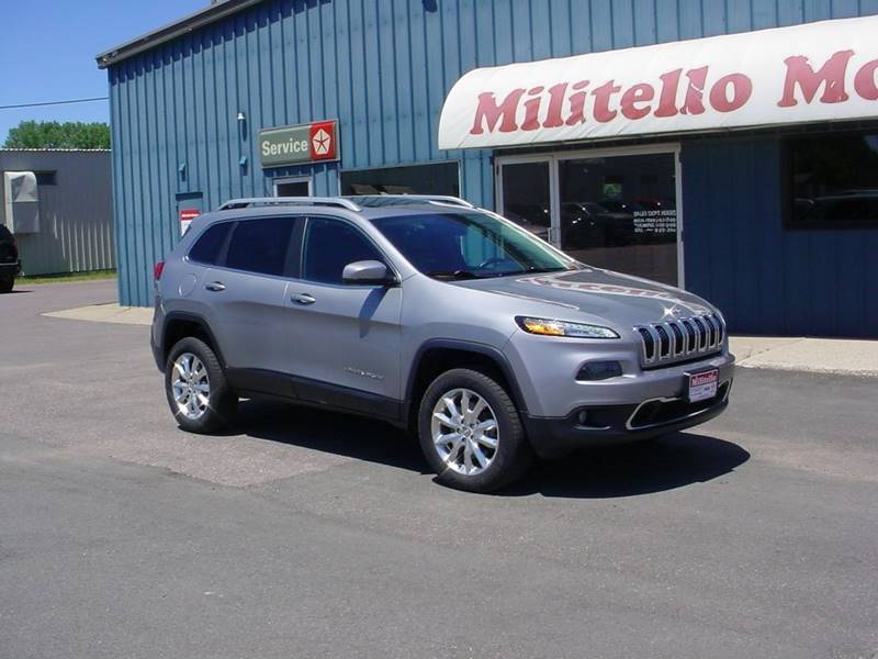 2015 Jeep Cherokee Limited 4x4 4dr SUV