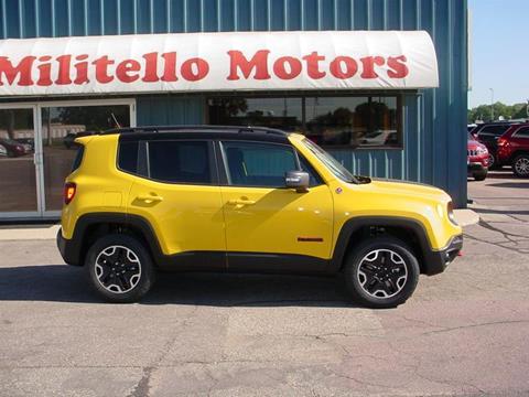 Jeep renegade for sale bel air md for Militello motors fairmont mn